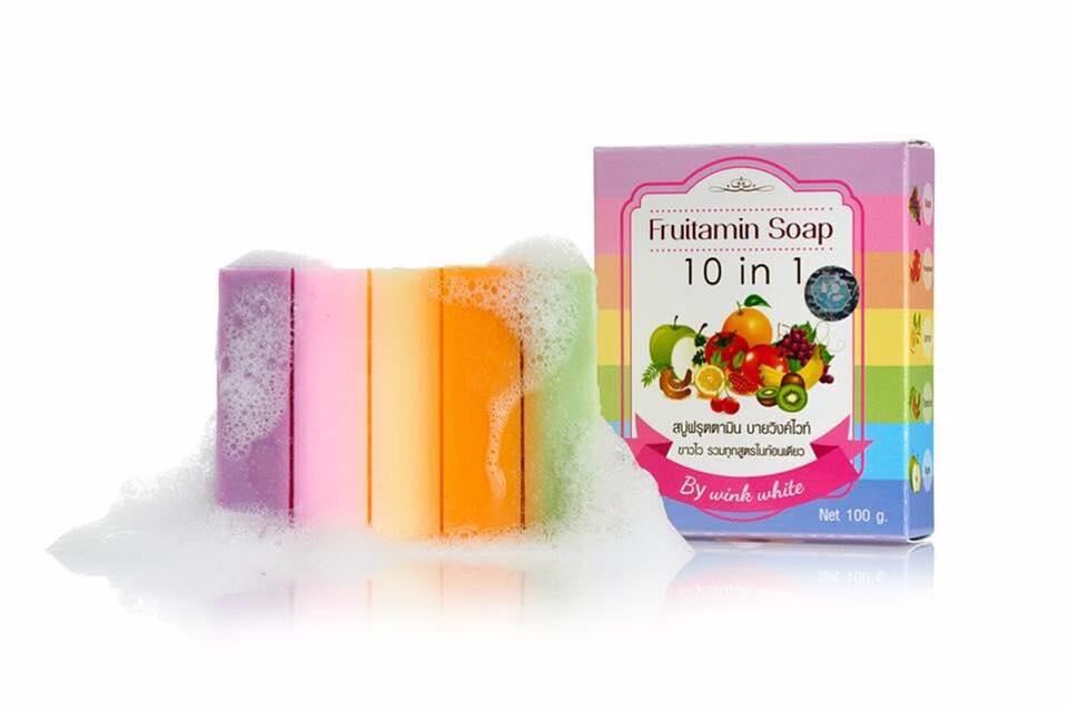 สบู่ฟรุตตามิน Fruitamin Soap