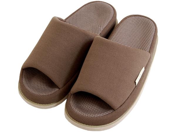 Refre OKUMURA Slippers สีน้ำตาล-ผู้ชาย (L) รองเท้าแตะเพื่อสุขภาพ