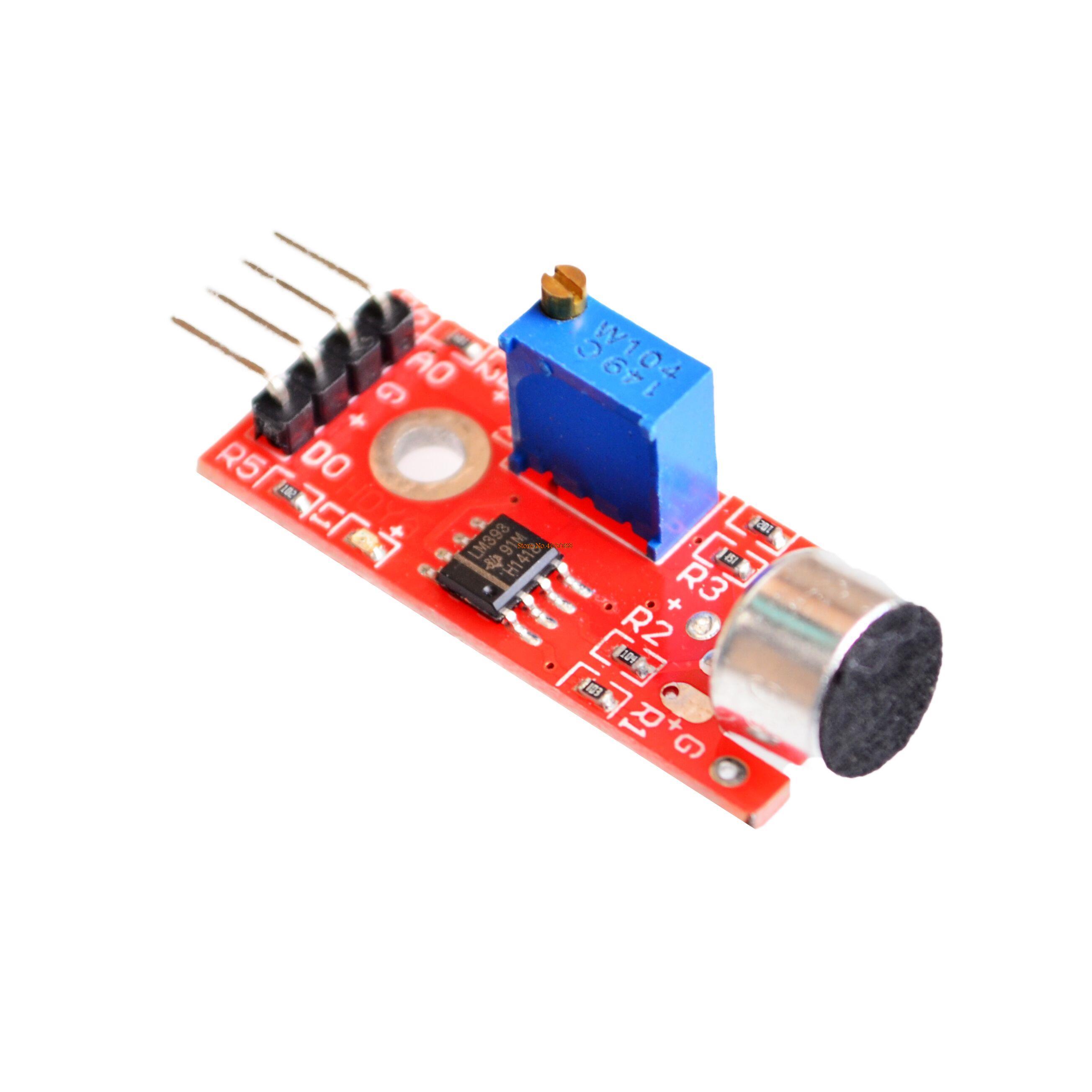 เซ็นเซอร์เสียง KY-037 High Sensitivity Sound Microphone