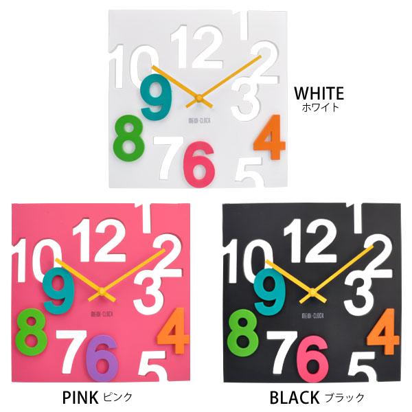 นาฬิกาแขวนผนังทรง 4 เหลี่ยม 3D Square Wall Clock ขนาด 29.5*29.5*1.8cm
