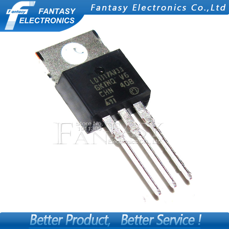 LD1117 V33 Regulator 3.3 Vdc 800mA