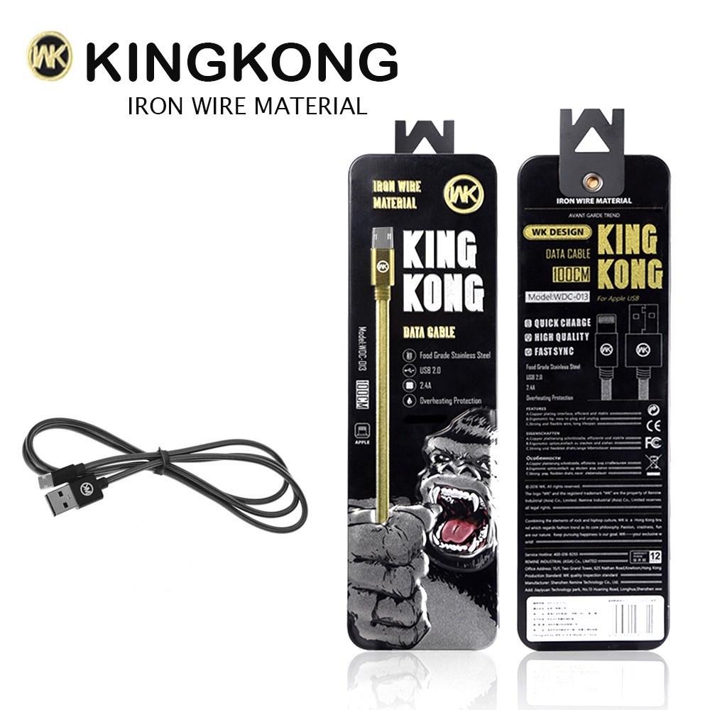 สายชาร์จ WK KINGKONG WDC-013 for Micro USB สีดำ