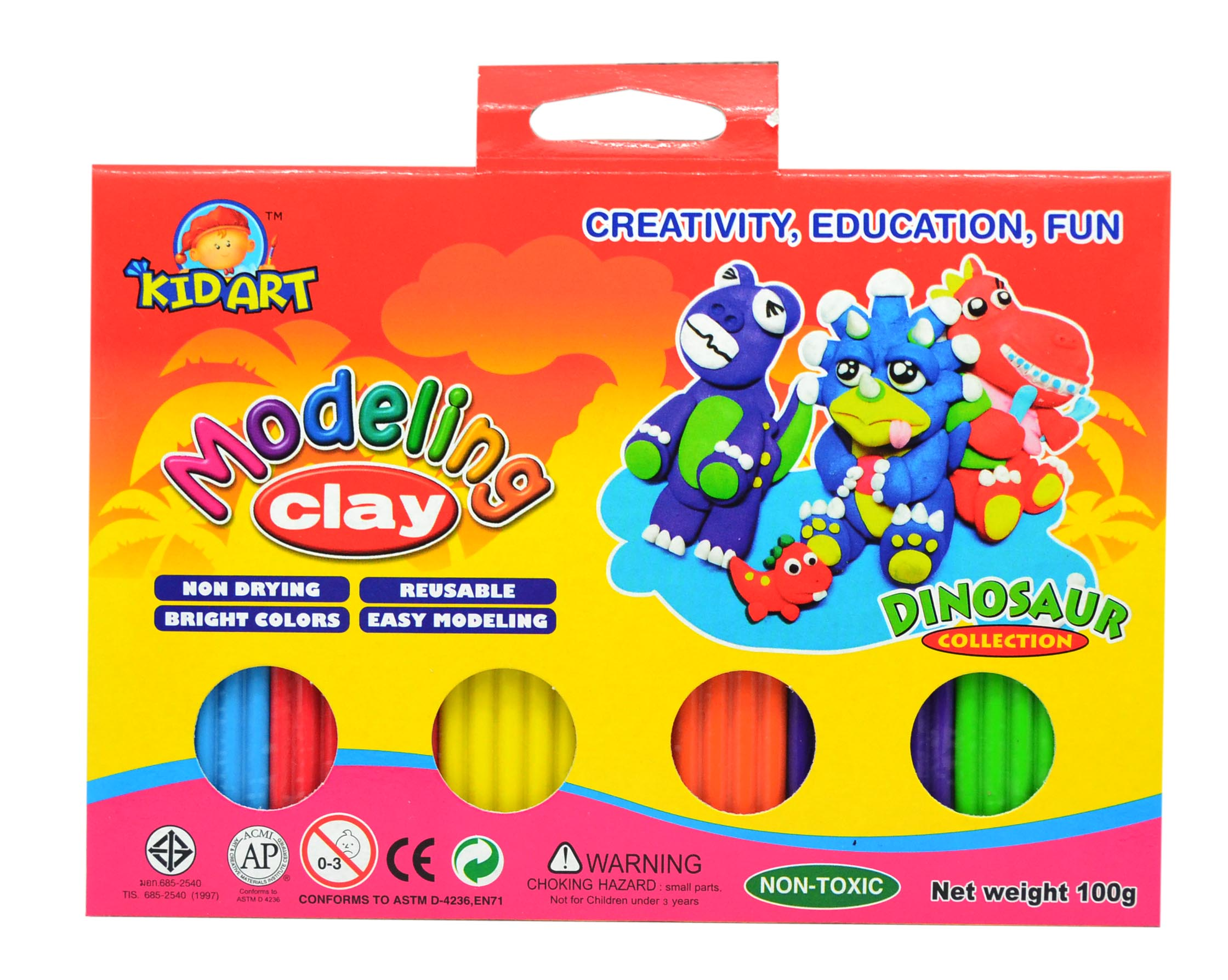 Clay 6 Colors 100 g.