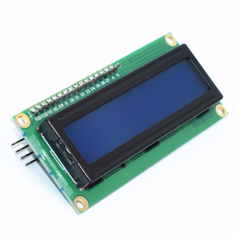 LCD1602+I2C LCD 1602 Module Blue Screen