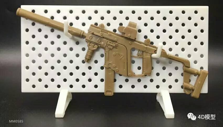 ชุดโมเดลปืนประกอบทหาร Series 4 โมเดลปืน KISS VECTOR