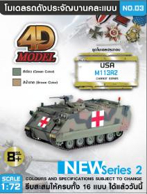 โมเดลรถถังประกอบ รุ่น M113A2