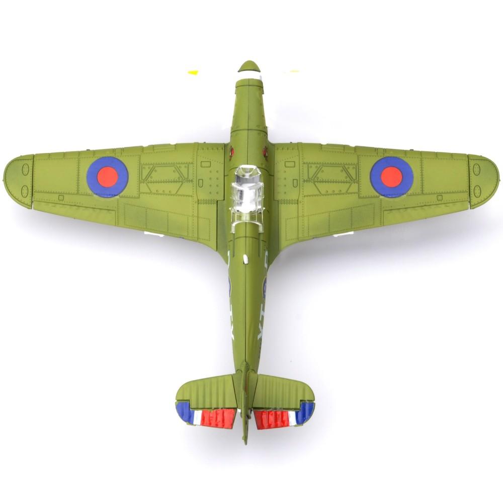 โมเดลเครื่องบินรบ Hurricane F