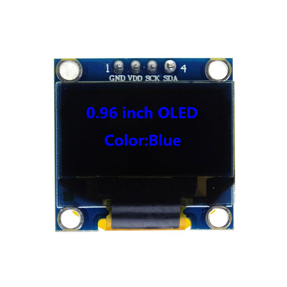 Blue OLED Display 0.96 inch 128X64 Module