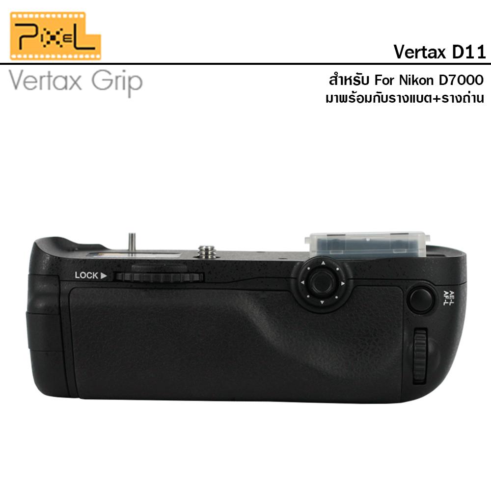 แบตเตอรรี่กริป Pixel vertax D11 For Nikon D7000