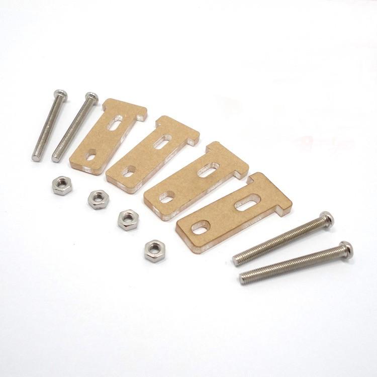 ชุดอุปกรณ์สำหรับยึด เกียร์มอเตอร์ TT Motor Bracket