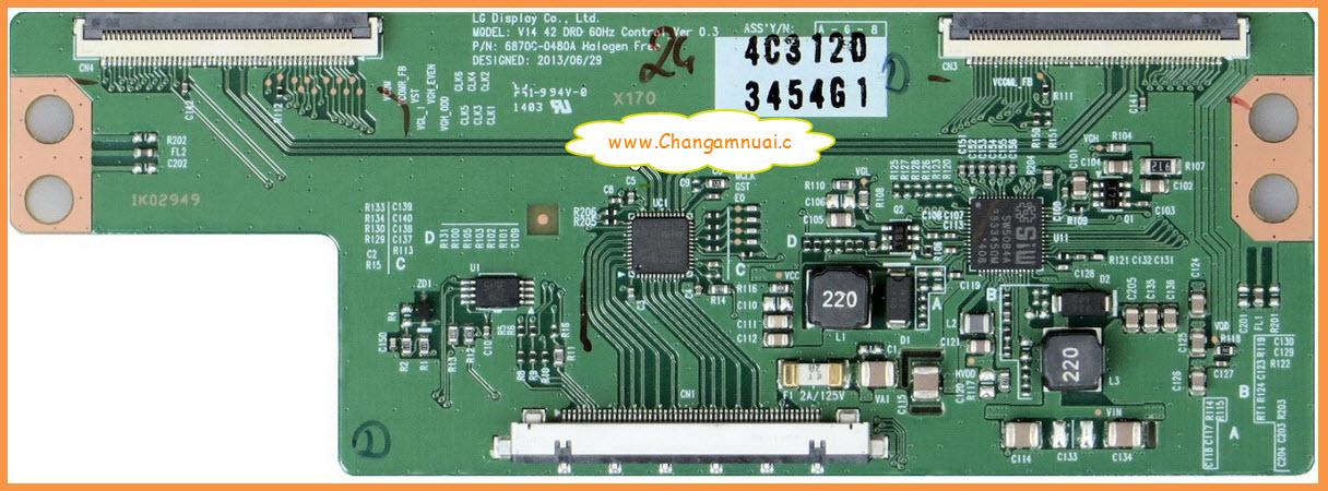 T CON LG 6870C-0480A ทีคอน LG