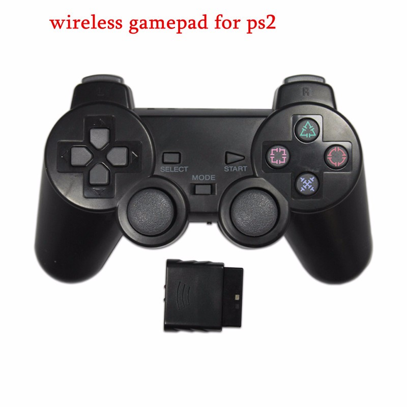 Wireless Joystick Playstation PS2 Controller (จอยไร้สาย)