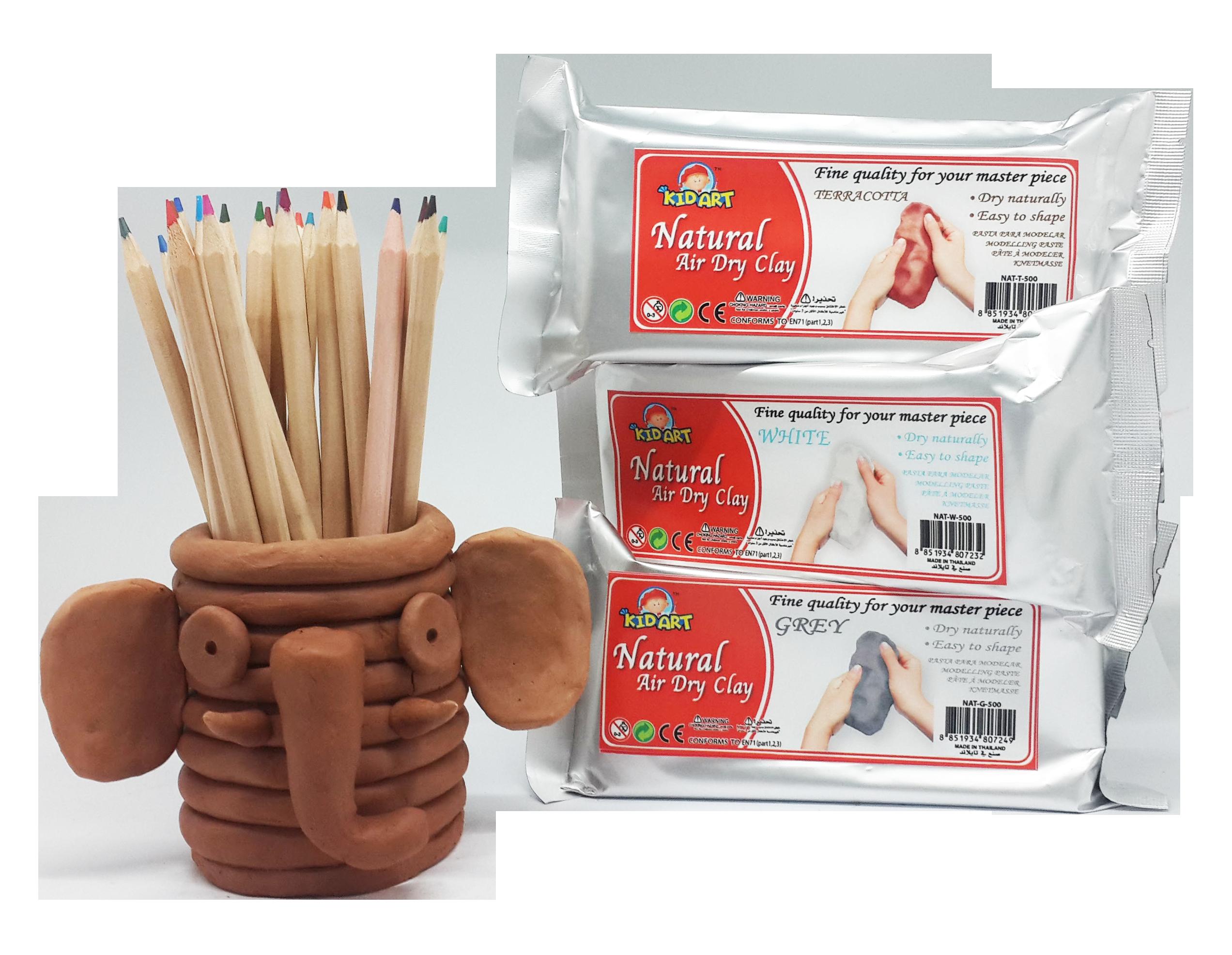 ดินธรรมชาติ (Natural Air Dry Clay)