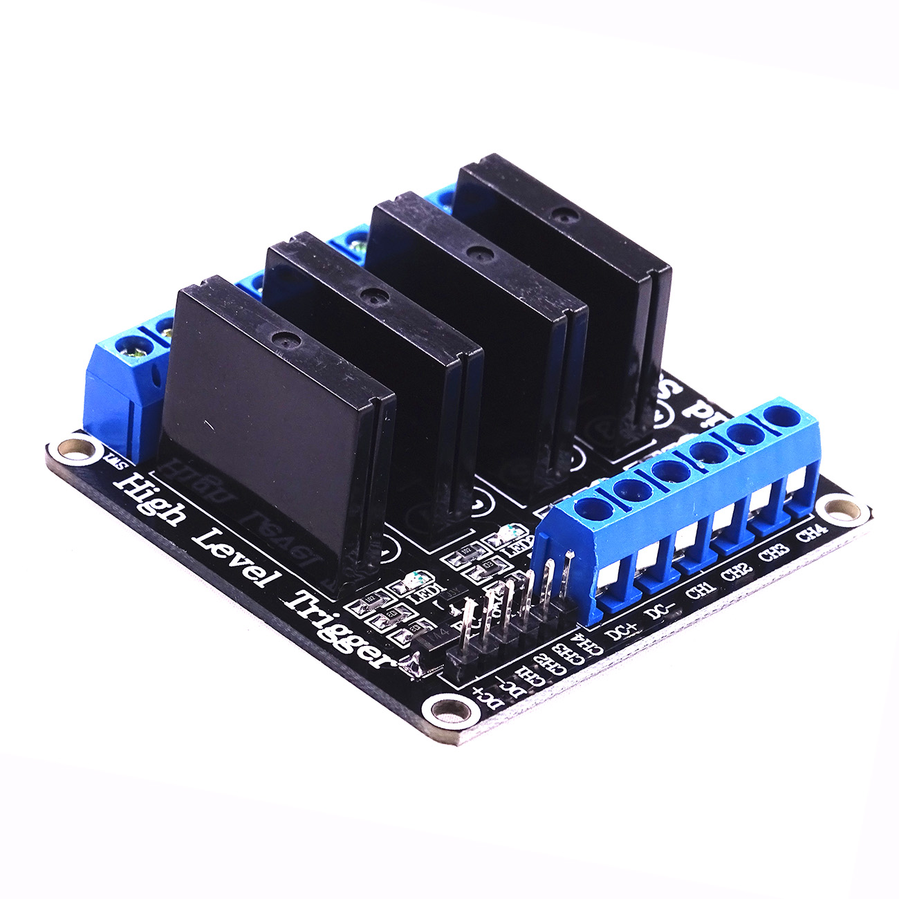 Relay 4 Channel 5V DC Solid State High Level Trigger