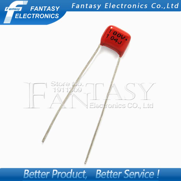 100NF 0.1UF 100V 104 Polypropylene Film Capacitor