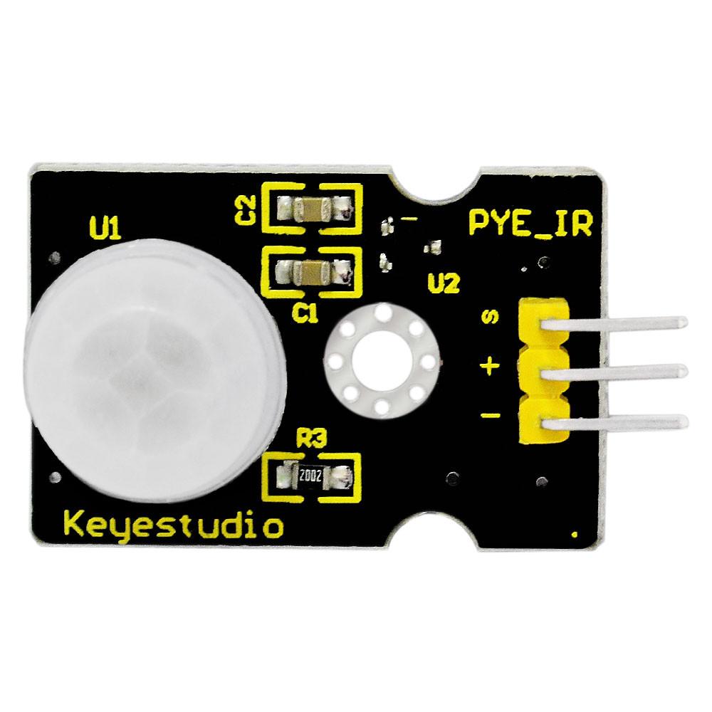 Keyestudio PIR Motion Sensor (เซ็นเซอร์ตรวจจับความเคลื่อนไหว)