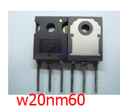 W20NM60 Mosfet 600V 20A For LCD LG