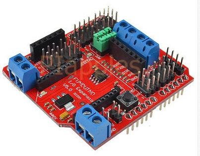 SRS485/Xbee/Bluetooth/RS485/APC220 I/O Sensor Expansion Shield V5.0 For Arduino