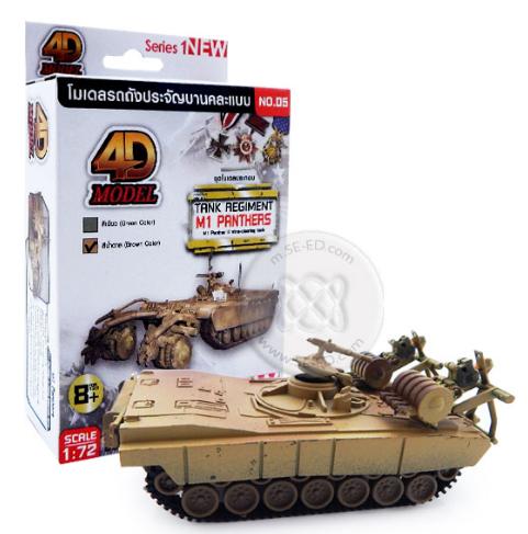 โมเดลรถถังประกอบ รุ่น M1 Panthers
