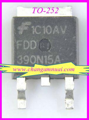 FDD390N15A Mosfet N 150V26A TO-252