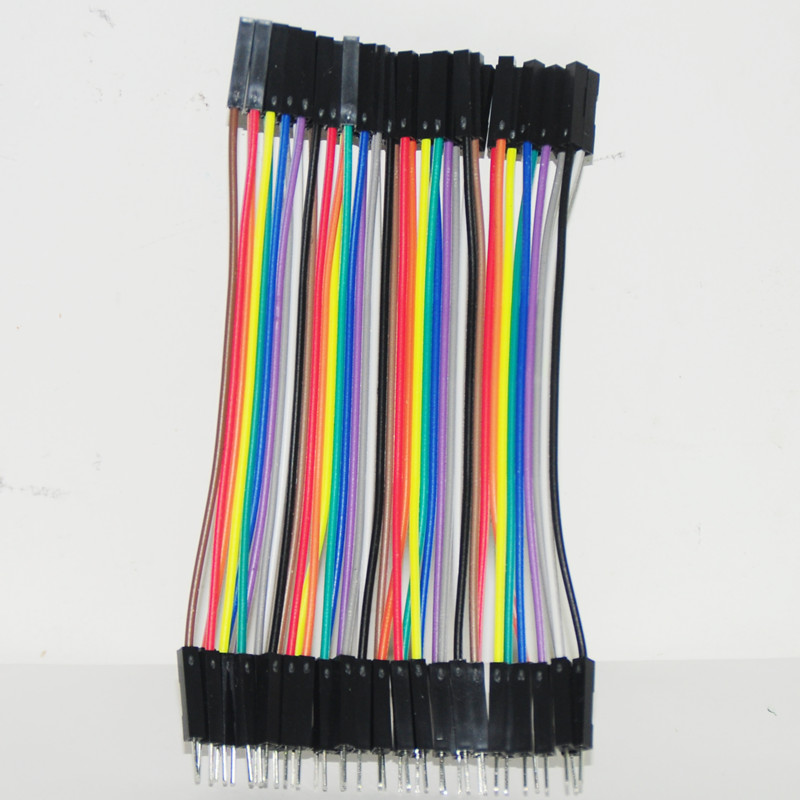 Jumper (F2M) cable wire 40pcs 10 cm 2.54mm Female to Male