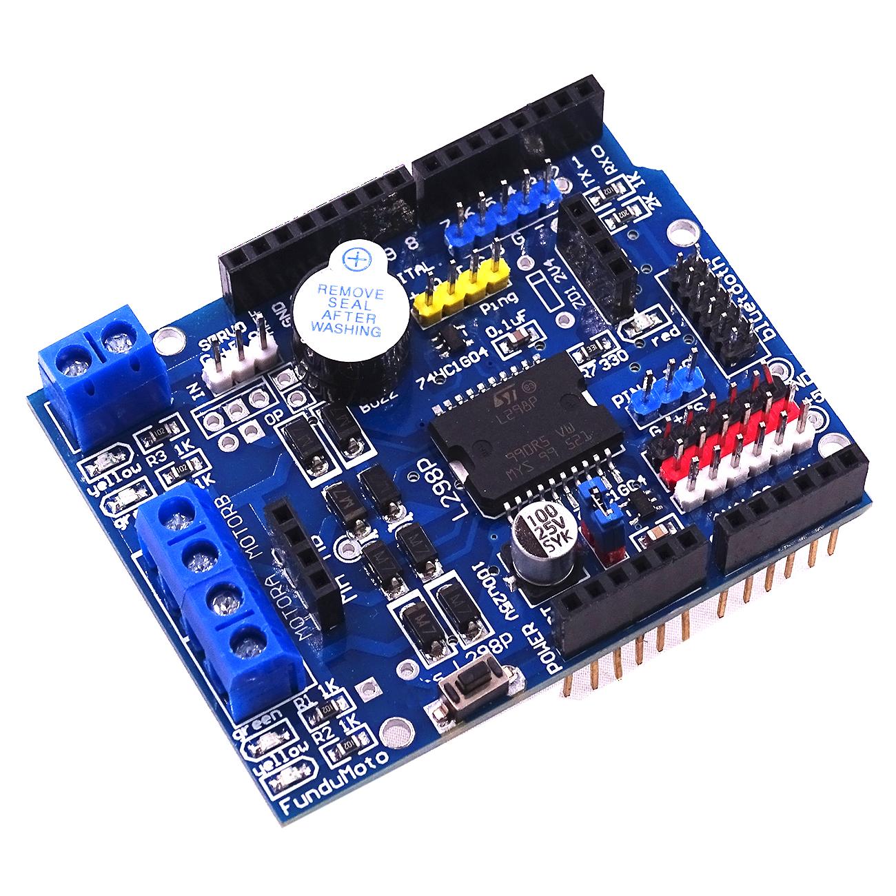 L298P Motor Shield Board