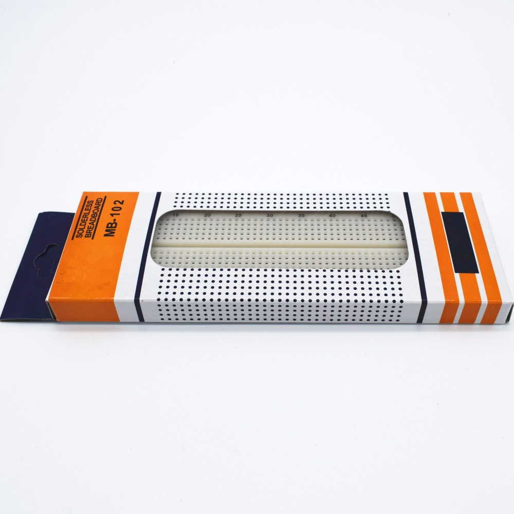 Breadboard 830 Point MB-102 (โฟโต้บอร์ด)