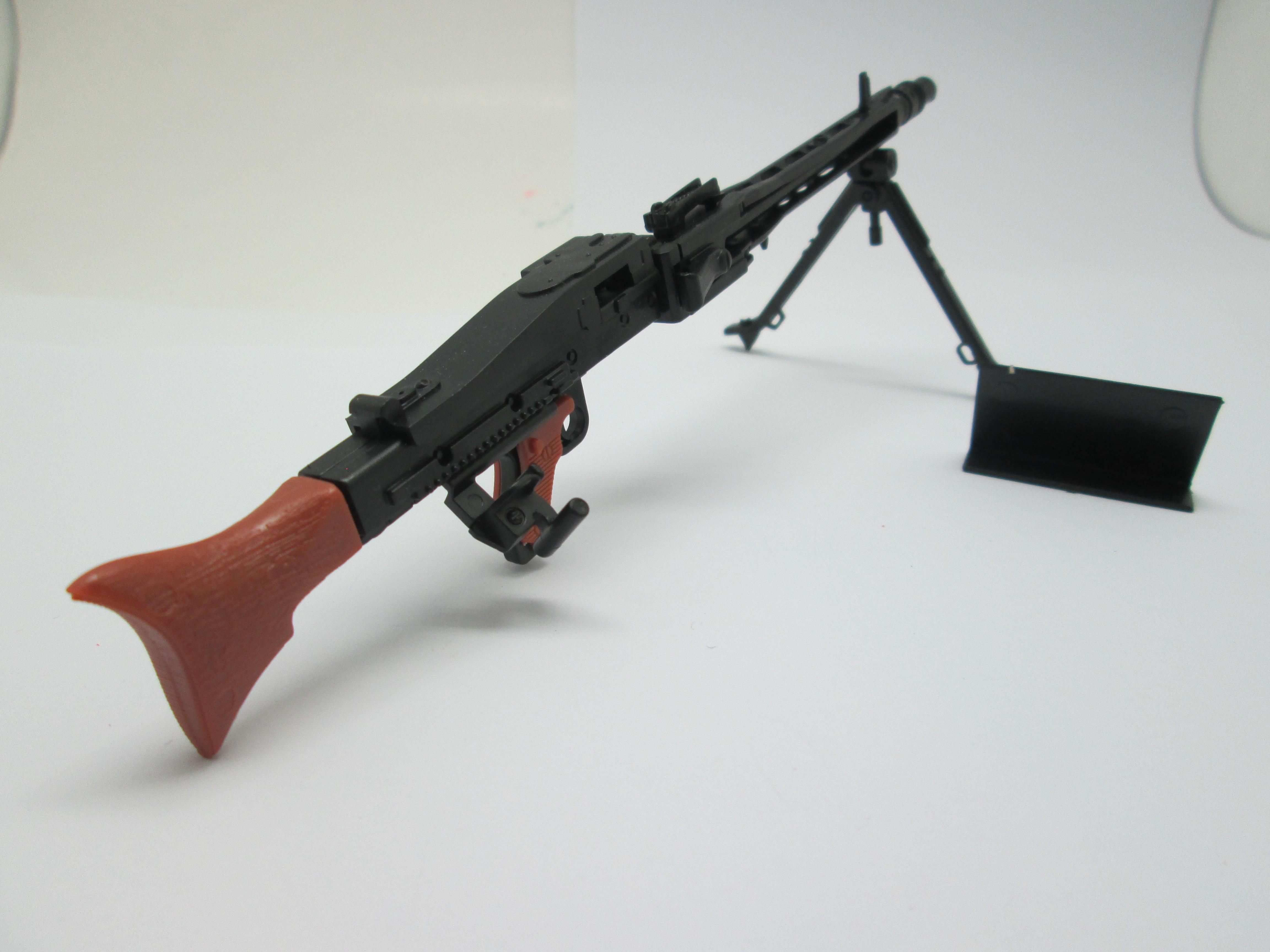 มเดลปืน 4D Model โมเดลปืนทหาร แบบ MG42