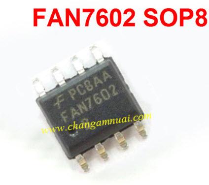 FAN7602 IC LCD SMD