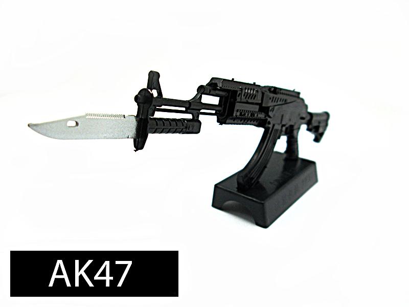 โมเดลปืน 4D Model โมเดลปืนทหาร แบบ AK47