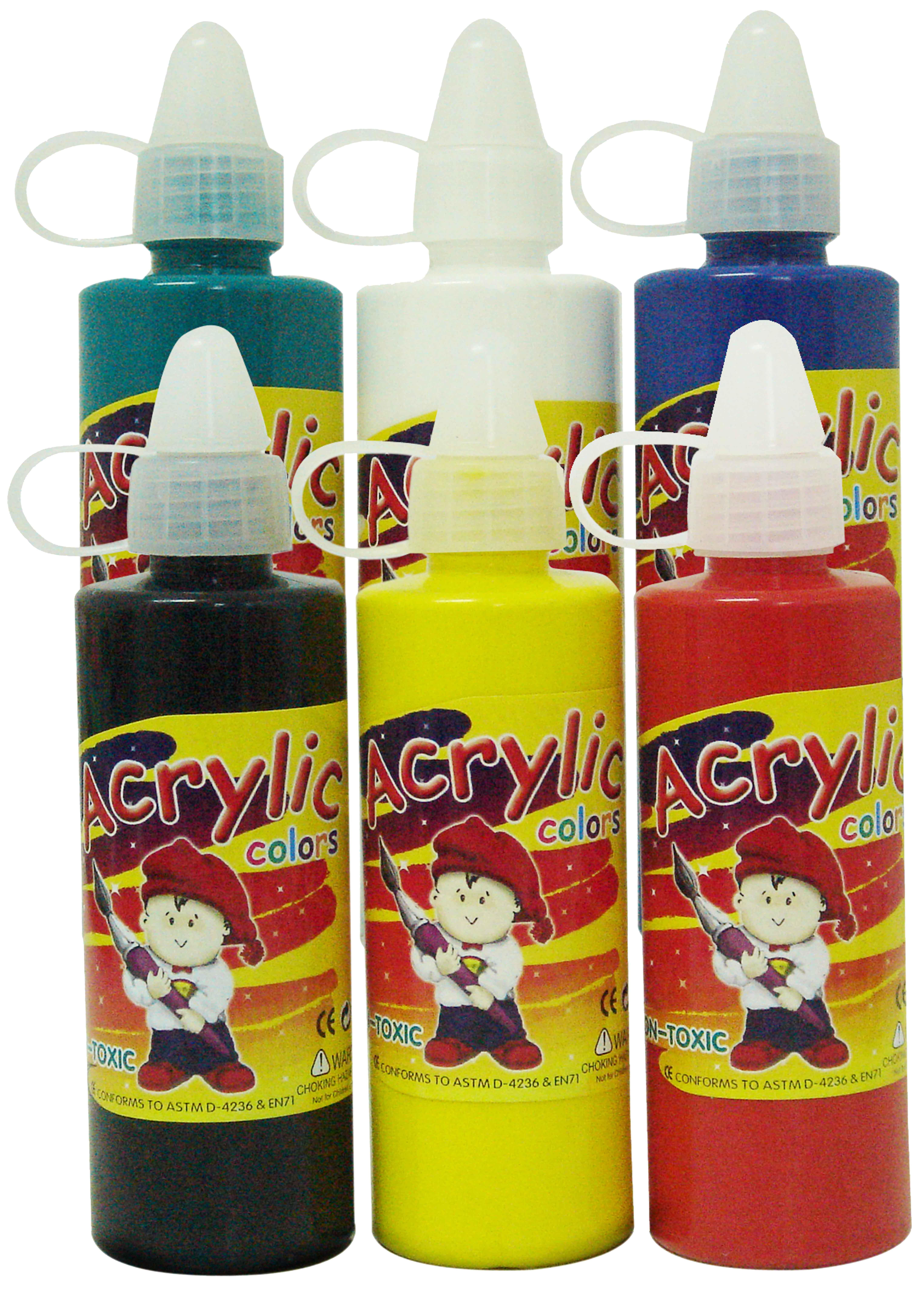 สีอะคริลิค 120 กรัม (Acrylic Paint 120 ml.)