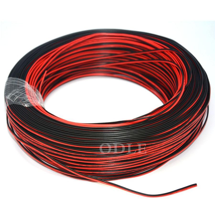 สายไฟแดงดำ ขนาด 22AWG มาตรฐาน ความยาว 1 เมตร