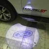 Logo ไฟส่องพื้นกระจกมองข้าง LED พร้อมโลโก้ Ford สำหรับ Ford Ranger WT / Ford Everest