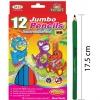 ดินสอไม้จัมโบ้สามเหลี่ยม 12 แท่ง (Triangle Jumbo Pencil 12 Ct.)