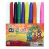 ปากกาเมจิกหัวใหญ่ 10 สี (Broad Line Markers Erasable Colors 10 Ct.)