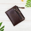 M Ven Leather Front Dark Brown