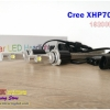 TK70 หลอดไฟหน้า LED ขั้ว HB3, HB4, HIR2 - LED Headlight Cree XHP70 chip