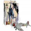 4D Model โมเดลเครื่องบินรบรุ่น F4U Corsair แบบ E