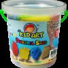 ทรายปั้นธรรมชาติ 400g. + แม่พิมพ์ (Dynamic Sand Fruit 400 g. 4 Colors + 2 Molds)