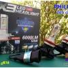 X3 หลอดไฟหน้า LED ขั้ว H11 - LED Headlight Philips chip ZES 2nd.G