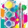 ชุดสีอะคริลิค 6 สี แถมฟรี พู่กัน + ปากกา / แพ็ค