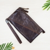 W smallclutch Letter Cow Brown