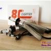 8C ขั้ว H7 หลอดไฟหน้า LED- Epistar chip 5600LM