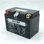 แบตเตอรี่แห้งพร้อมใช้ คุณภาพสูง ยี่ห้อ FB รุ่น FTZ12S-MF (12V 11.6AH) สำหรับรถรุ่น FORZA300/VESPA300/Z300/NINJA650/ER6N/Z800/Z1000/HAYABUSA/GSX1000/BOLT/XJR1300/SILVER WING