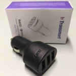 Tronsmart C3PTA Car Charger Quick Charge 3.0 3xUSB 390บาท ประกัน1ปี