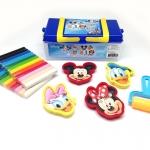 ชุดดินน้ำมัน 400 กรัม + แม่พิมพ์มิกกี้เมาส์4ชิ้น+ ลูกกลิ้ง1ชิ้น (Mickey Mouse Modeling Clay 400 g Gift Set)