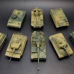 4D Model Tank: โมเดลประกอบรถถังประจัญบาน ชุดที่ 1
