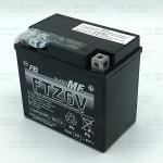 แบตแห้งพร้อมใช้ คุณภาพสูง ยี่ห้อ FB รุ่น FTZ6s-mf (12V 5.3AH) สำหรับรถรุ่น CBR150R,Click125i,Moove,PCX125,PCX150,Zoomer-x,Filano,Fiore,N-Max,Tricity