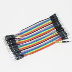Jumper (M2M) cable wire 40pcs 10cm 2.54mm Male to Male