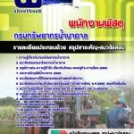 [แนวข้อสอบ]พนักงานพัสดุ กรมทรัพยากรน้ำบาดาล[พร้อมเฉลย] (PDF)